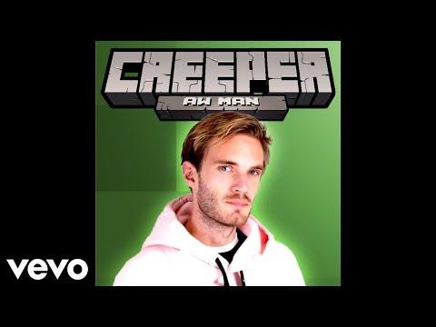 """PewDiePie Sings """"Revenge"""" (Creeper Aww Man)"""