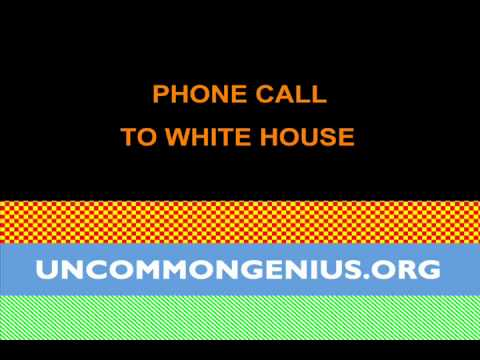 Phone call to Whitehouse: Autistic Civil Rights