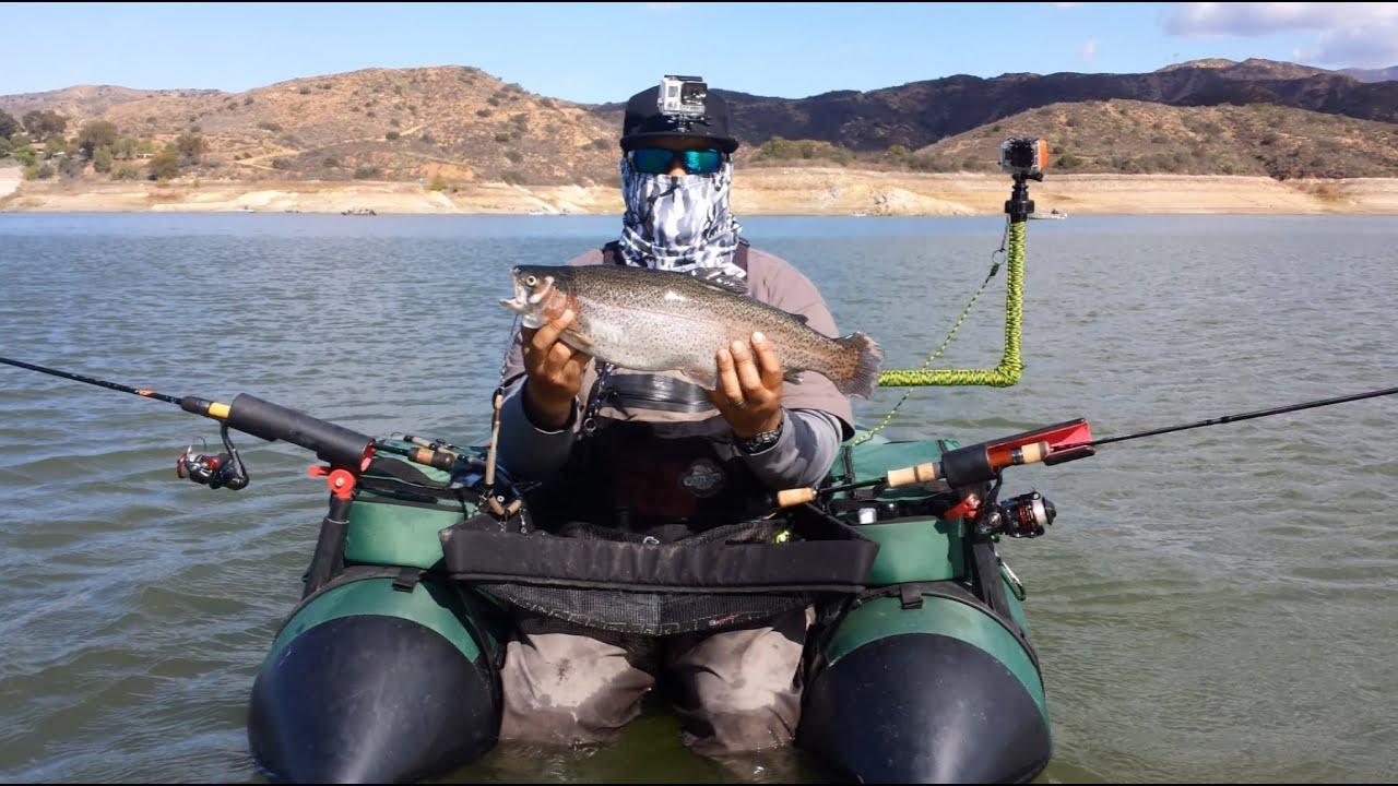 Irvine lake trout fishing 11 2 2014 youtube for Irvine lake fishing