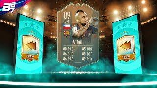 FLASHBACK SBC!! 89 VIDAL! INSANE CARD! | FIFA 19 ULTIMATE TEAM