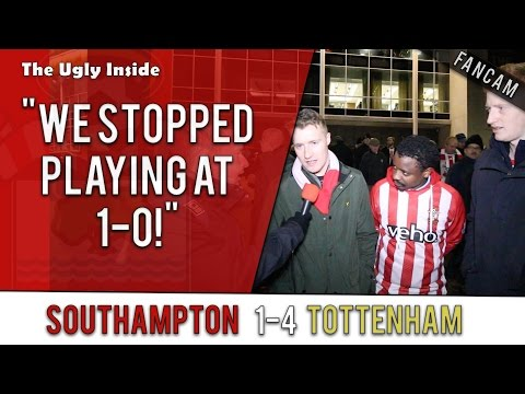 """""""We stopped playing at 1-0!""""   Southampton 1-4 Tottenham Hotspur   The Ugly Inside"""