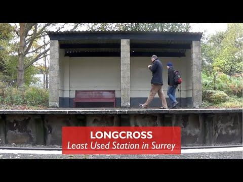 Longcross - Least Used Station In Surrey