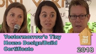 Tiny House Fest Vermont: Yestermorrow's Tiny House Design/build Certificate 2018
