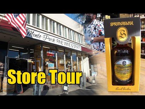 Menlo Park Fine Wines & Spirits - Whisky Store Tour