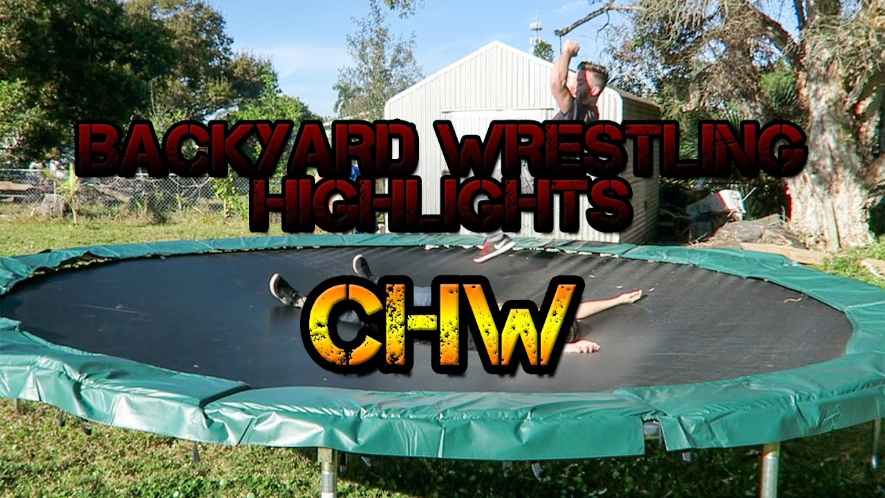 Backyard Wrestling Highlights: CHW - YouTube