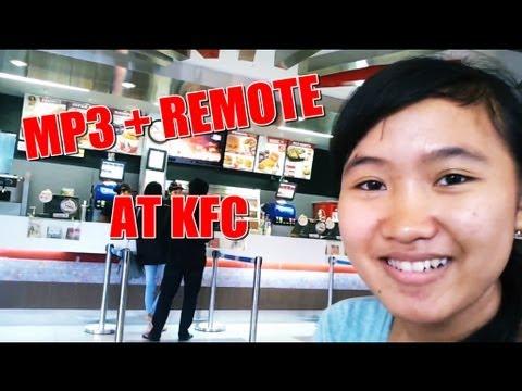Tes Mp3 remote Tv di KFC
