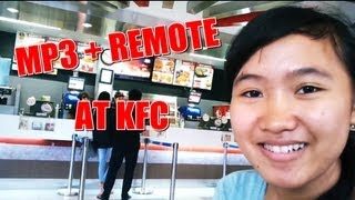Tes Mp3 remote Tv di KFC