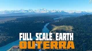 Outerra - Full Scale Procedural Planet Earth
