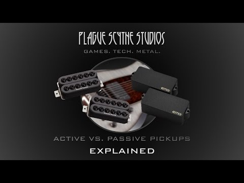 Active VS. Passive Pickups - Explained