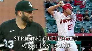 Lance Lynn turns Mike Trout into a bad hitter, a breakdown