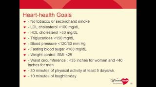 WEBINAR RECORDING: 4th Annual African-American Women and Heart Disease: What You Need to Know