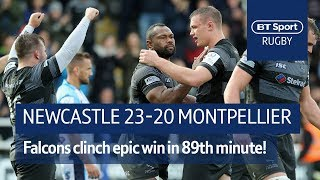 Newcastle vs Montpellier (23-20) Heineken Champions Cup Highlights