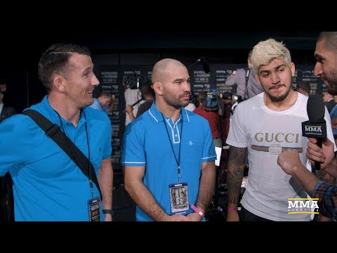 Thumbnail: Team McGregor Discusses Altercation With Team Mayweather's 'Jersey Shore Rejects'