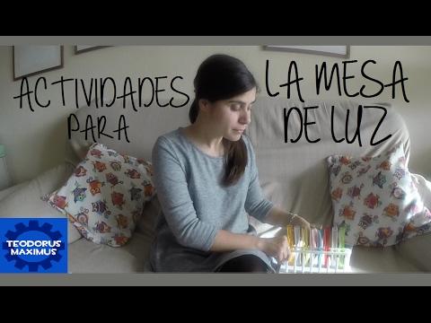 Montessori Tu Actividades La Mesa Luz Youtube De En Para Casa mn0N8vw