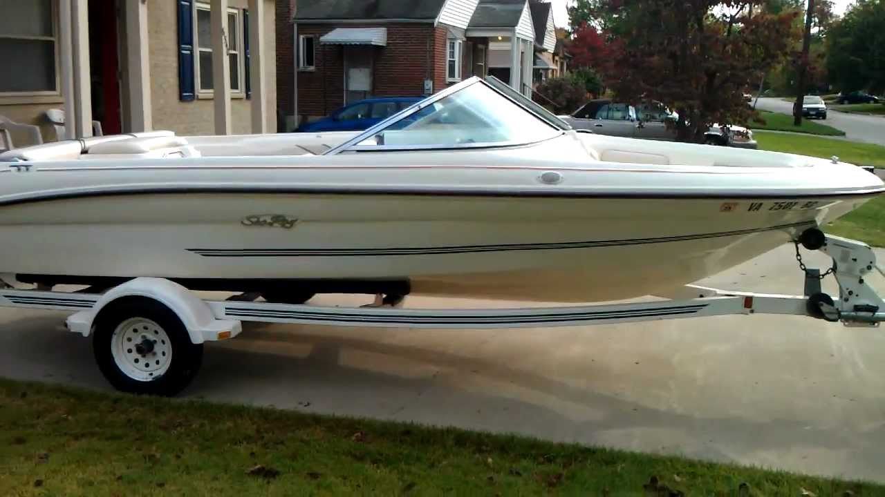 Repeat 1996 Sea Ray 175 Bowrider by Diggler's Boat Show - You2Repeat