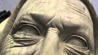 Woodcarving Lessons With Ian Norbury - 13 - Detailing The Eyes