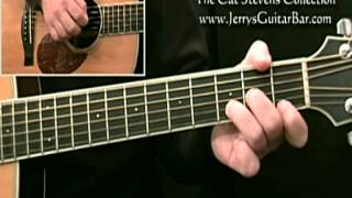 How To Play Cat Stevens Hard Headed Woman (Introduction)