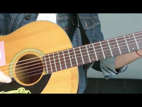 "Justin Bieber - ""Boyfriend"" How To Play Guitar (Easy!! Guitar Tutorial!!)"