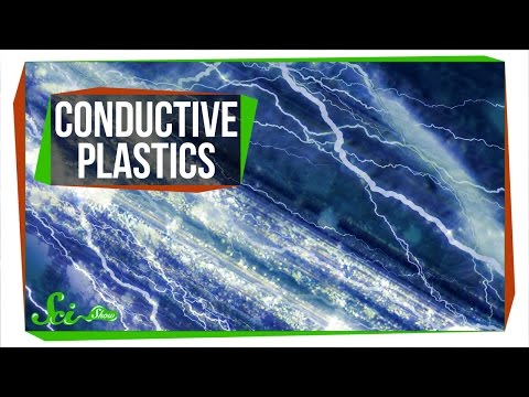 We Accidentally Invented Plastic That Conducts Electricity