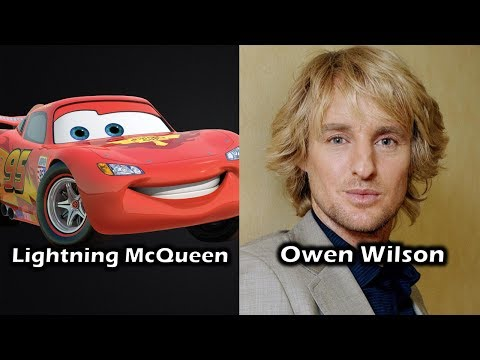 Characters and Voice Actors - Cars