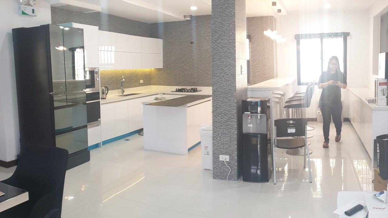 Modular kitchen high gloss   YouTube