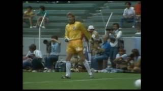 1986 Halbfinale D vs Frankreich