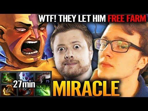 21 mins END GEAR | Miracle AM Farming skill at TOP - Dota 2 Miracle Anti-Mage thumbnail