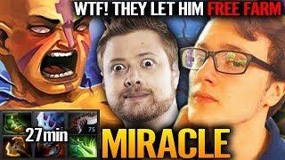 21 mins END GEAR | Miracle AM Farming skill at TOP - Dota 2 Miracle Anti-Mage
