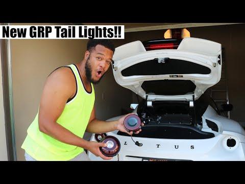 Brand New GRP Tail Light Install on my Lotus Evora 400!