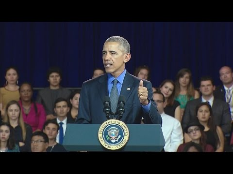 President Obama Holds a YLAI Town Hall