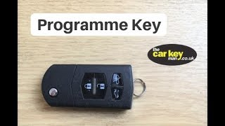Programme Mazda 6  Central Locking HOW TO