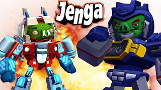 Jenga Angry Birds Transformers