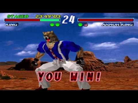 Tekken 2 - KING Story [PS1] 1080p HD