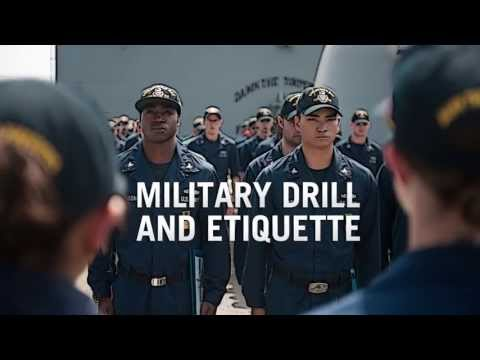 Military Drill and Etiquette
