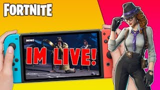 Pro Fortnite Nintendo Switch Player // Pro solo Matches // Wins Unknown // Fortnite + Tips!!