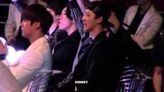 20141203 Bobby Bi reaction to GD TAEYANG fancam