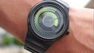 Kisai Uzumaki Analog Watch Design From Tokyoflash Japan