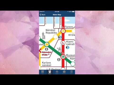 Prague Offline Map - City Metro Airport