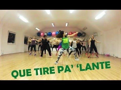 "Daddy Yankee - ""Que Tire 'Pa 'Lante"" II ZUMBA FITNESS CHOREOGRAPHY II"
