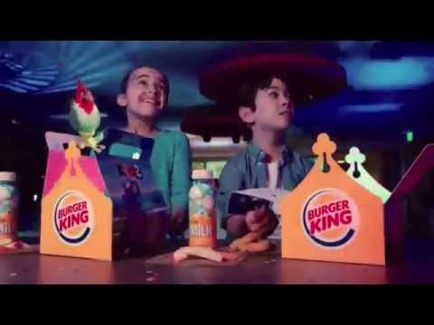 Burger King Commercial for Kids Meal with Rio 2 toys