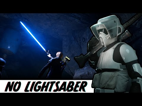 Can You Beat Star Wars Jedi Fallen Order Without A Lightsaber? (part 1)