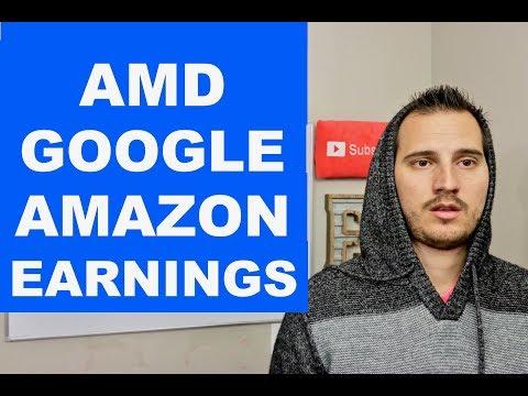 AMD, GOOGLE, & AMAZON EARNINGS REACTION