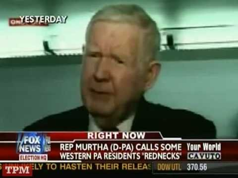 Rep. John Murtha (D-PA) Comments About Voters in PA
