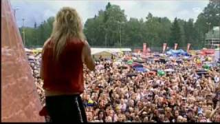 "Hanoi Rocks ""Ice Cream Summer & Lightnin' Bar Blues"" Live @ Ankkaro..."