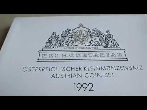 1992 Austria : Proof Set