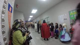 CHARACTER PARADE Halloween at Holley Elementary 2019.