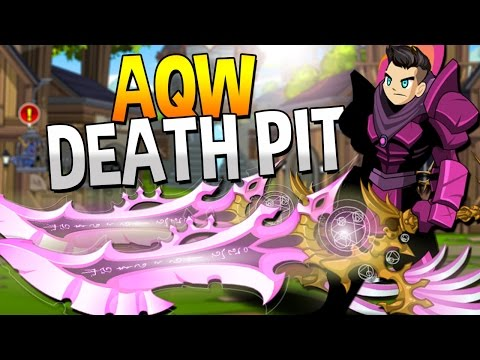 AQW DEATH PIT/PINKER DYE AQW 2016