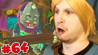 new happy mask salesman scythe plays zelda breath of the wild 64