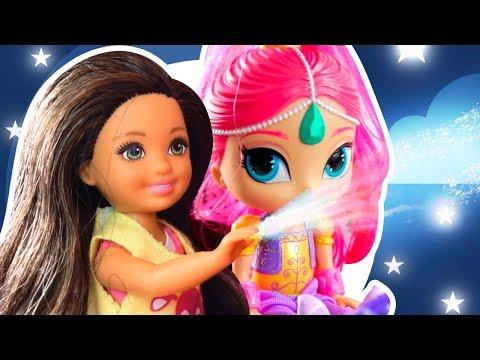 История Куклы Барби! Стейси хочет питомца. Новые соседи у Барби: Семья Свинок и Шиммер и Шайн!