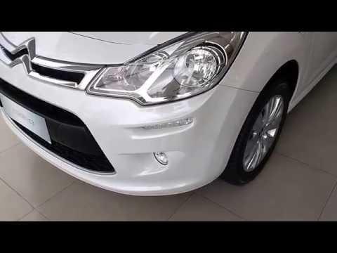 Detalhes do Novo Citroën C3 2017 Blanc Nacré (Branco perolizado)